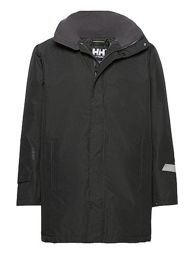 Dubliner Insulated Long Jacket Regenkleidung Schwarz HELLY HANSEN