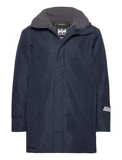 Dubliner Insulated Long Jacket Regenkleidung Blau HELLY HANSEN