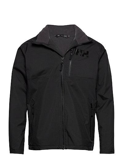 Active Hooded Midlayer Jacket Outerwear Sport Jackets Schwarz HELLY HANSEN