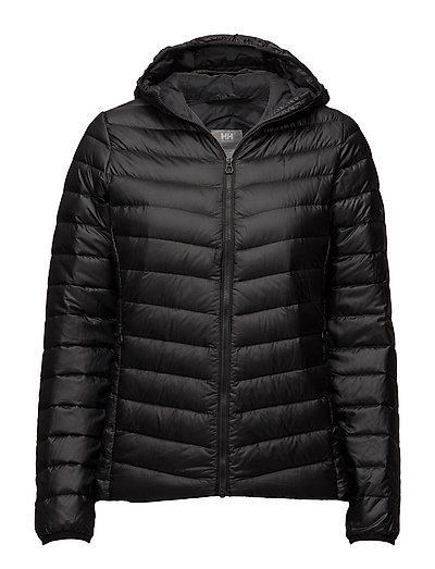 W Verglas Hooded Down Insulato Outerwear Sport Jackets Padded Jacket Schwarz HELLY HANSEN