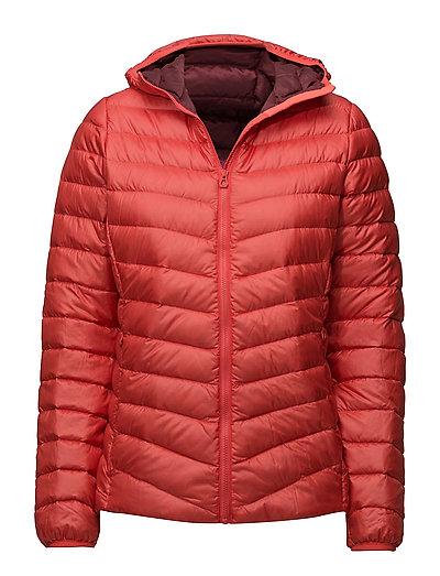 W Verglas Hooded Down Insulato Outerwear Sport Jackets Padded Jacket Rot HELLY HANSEN