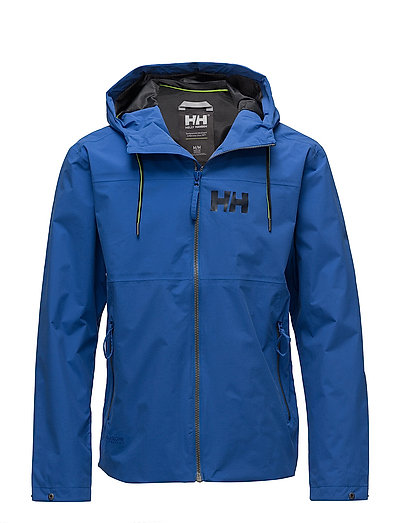 RIGGING RAIN JACKET - 563 OLYMPIAN BLUE