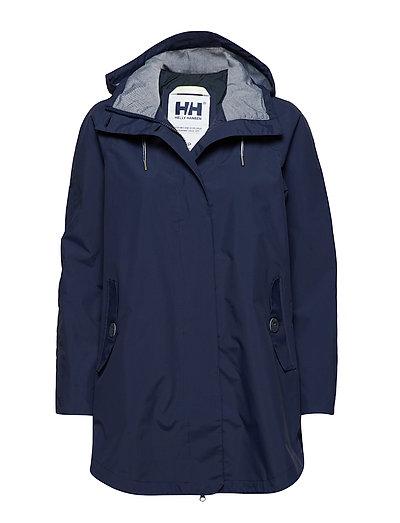 W Sendai Rain Coat Regenkleidung Blau HELLY HANSEN