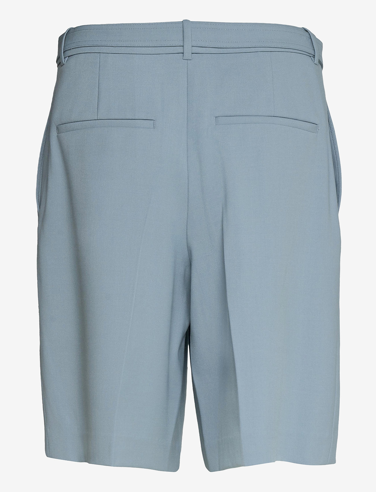 Helmut Lang - SUIT SHORT.STRETCH W - chino shorts - space grey - 1