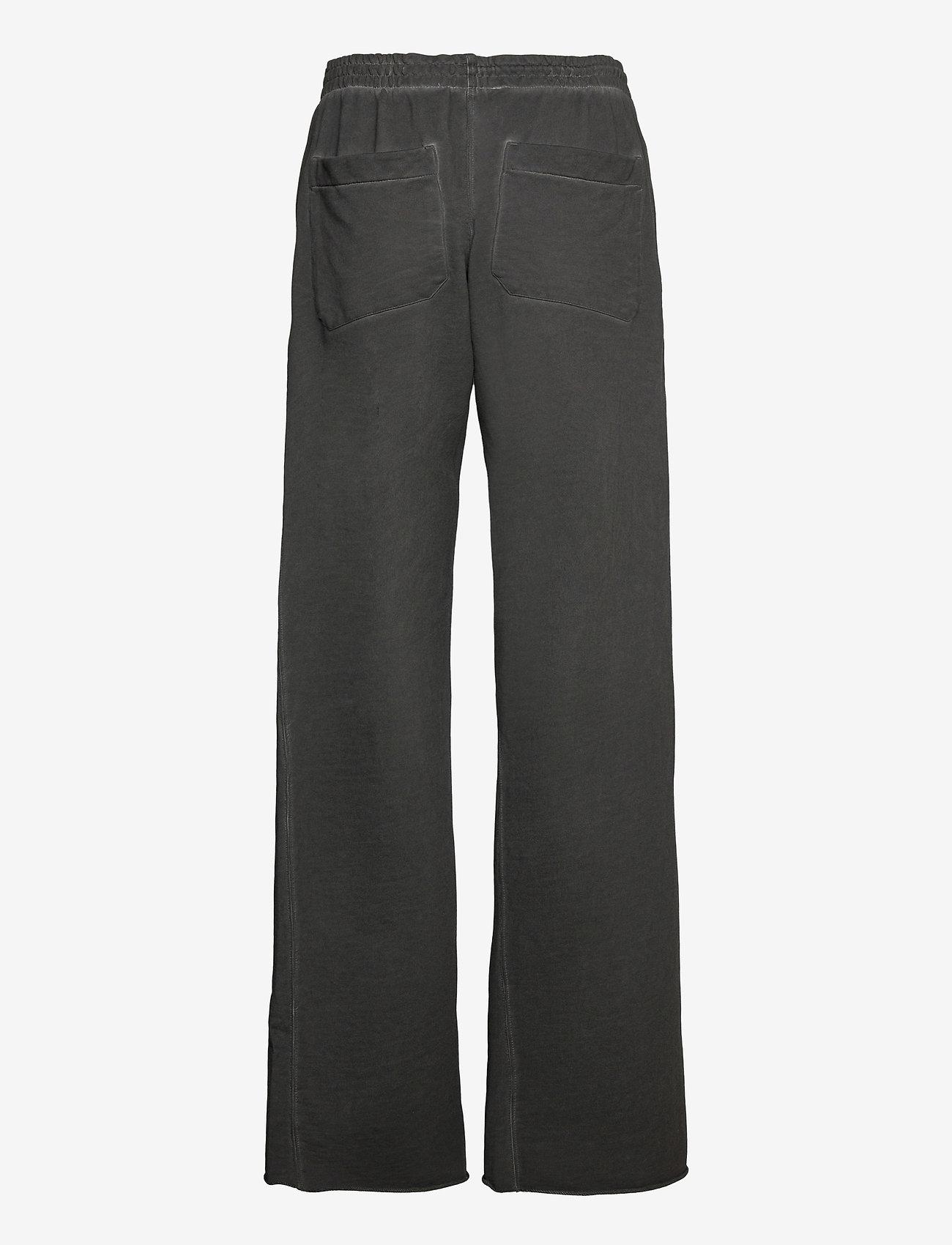 Helmut Lang - GD W LEG SWTPNT.GARM - bukser med brede ben - charcoal - 1