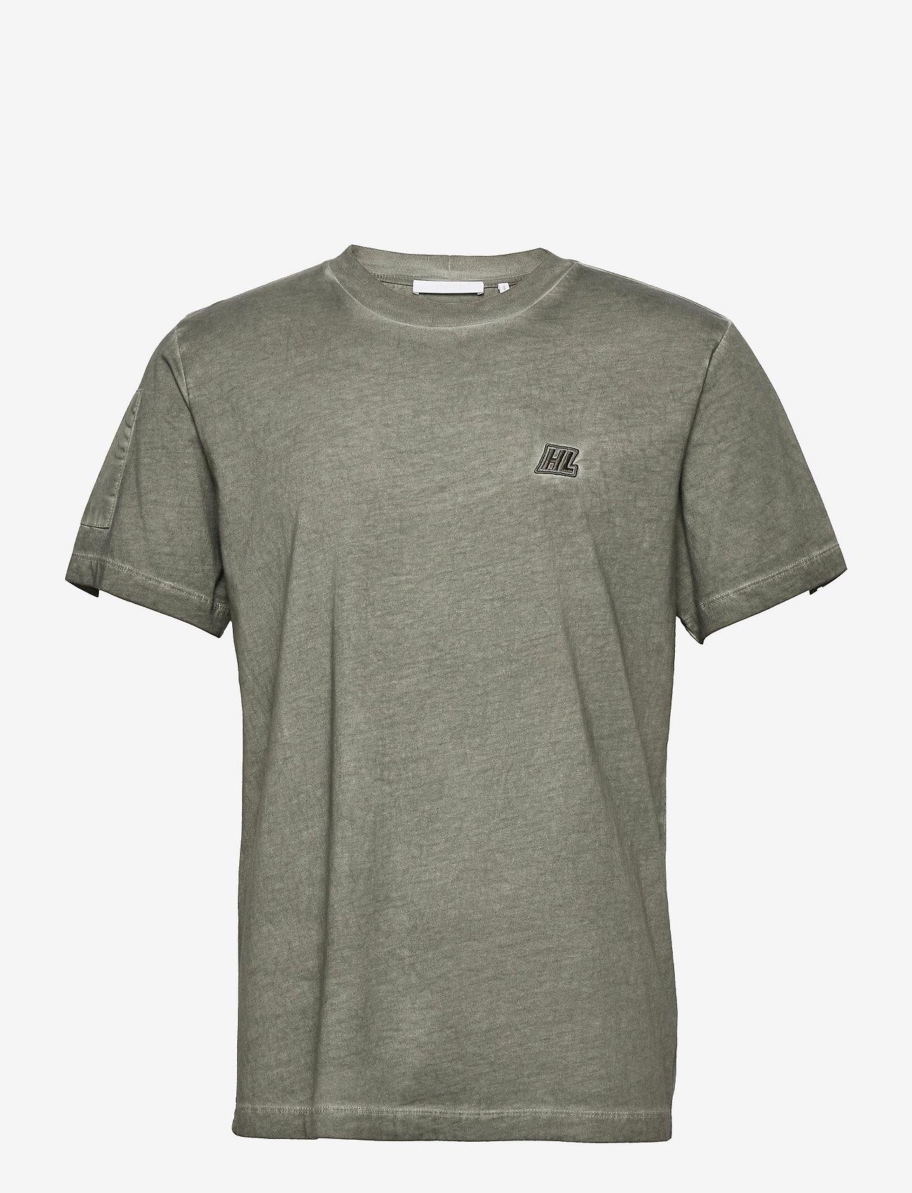Helmut Lang - MILITARY TSHIRT.GARM - t-shirts basiques - alpine - 0
