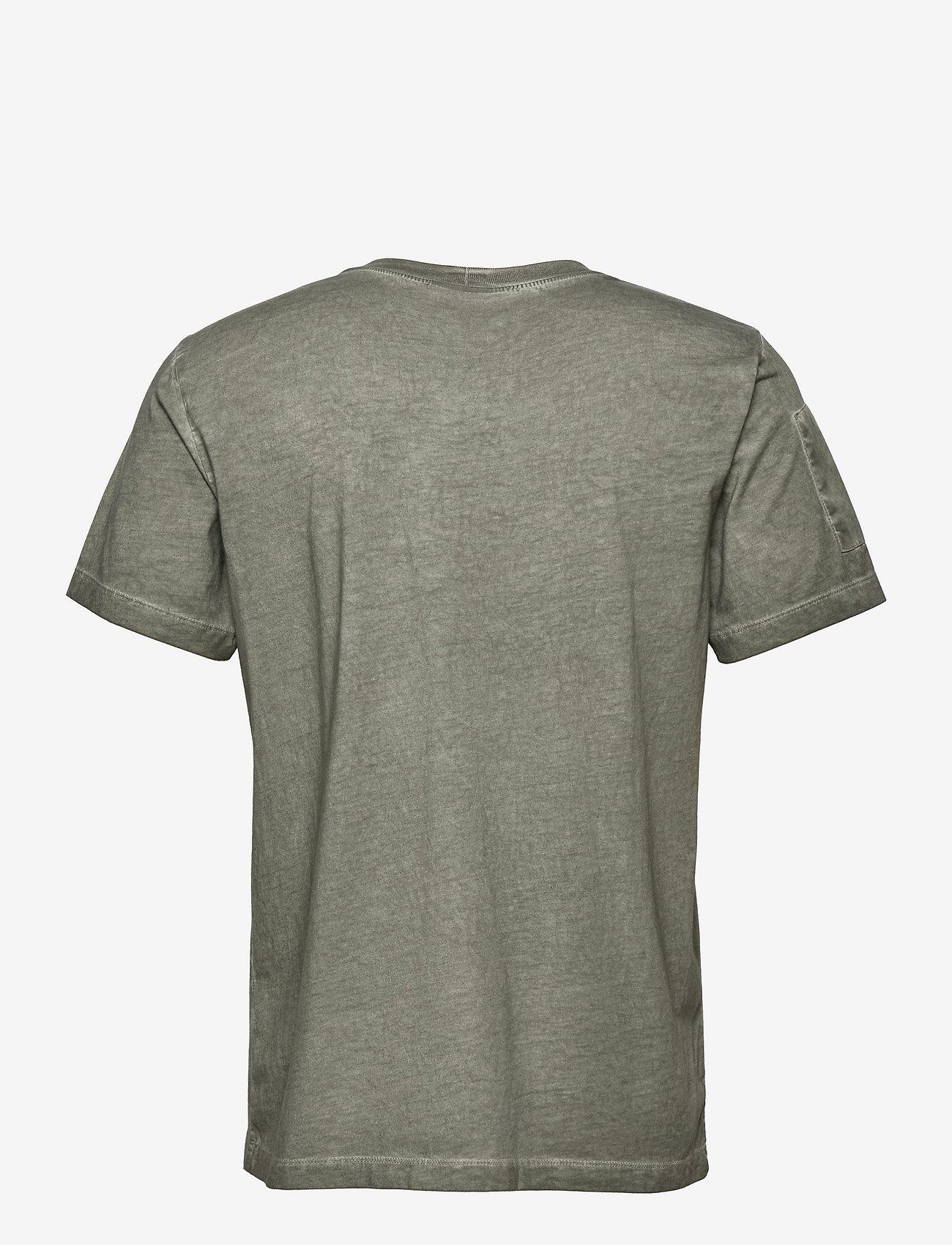 Helmut Lang - MILITARY TSHIRT.GARM - t-shirts basiques - alpine - 1