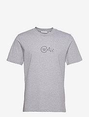 Helmut Lang - PUPPY TSHIRT.PUPPY J - t-shirts à manches courtes - vapor heather - 0