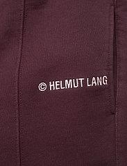 Helmut Lang - LOGO SWEATPANT.BR SW - kleidung - crimson night - 3
