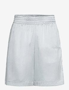 SILK SHORT.STR SILK - shorts casual - mechanical grey