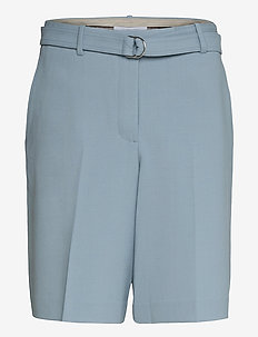 SUIT SHORT.STRETCH W - chino shorts - space grey