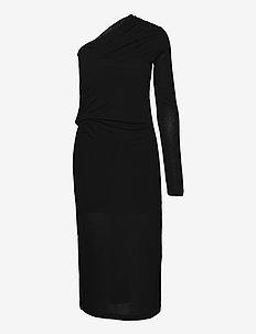 ONE SLV DRESS.DRY SC - robes de cocktail - basalt black