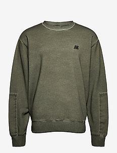 MILITARY CREW.GD TER - basic sweatshirts - alpine