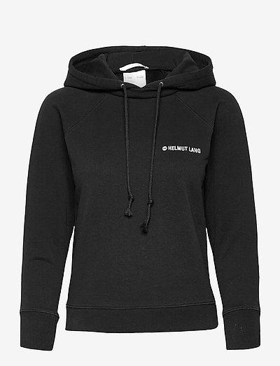 SHRUNKEN HOODIE.G SW - sweatshirts & hoodies - black