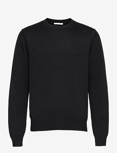 LOGO CREW.LOGO - tricots basiques - black
