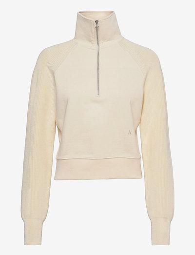 COMBO SWEATSHIRT.SWE - sweatshirts & hættetrøjer - ivory