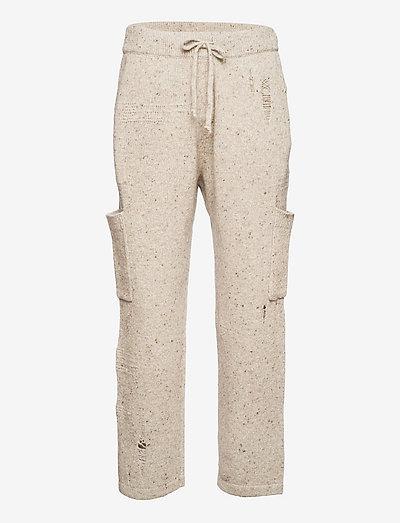 SWTR JOGGER.DISTRESS - pantalons décontractés - sandstorm