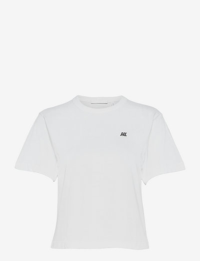 CROPPED T.FLOCKING G - t-shirts & tops - white
