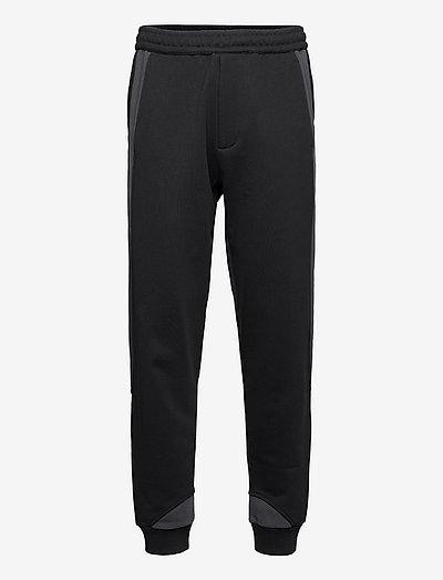 PANEL SWEATPANT.COLO - kleding - black/navy