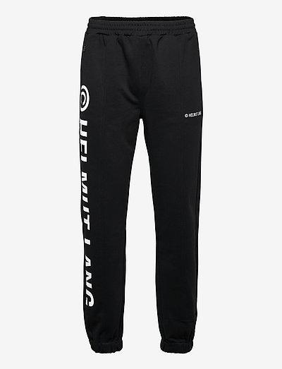 SEAM SWEATPANT.PATCH - vêtements - black