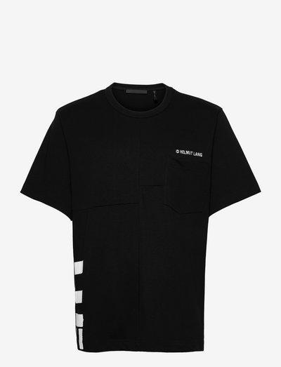 PATCHWORK SS TEE.PAT - t-shirts basiques - black