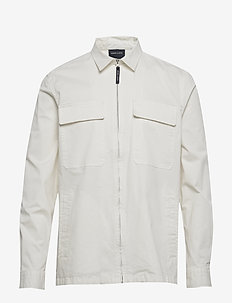Shore Overshirt - basic-hemden - off white