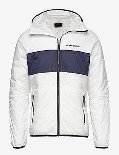 Mav HL Liner Hood Jacket - vindjakker - cloud white