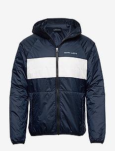 Mav HL Liner Hood Jacket - vindjakker - navy block