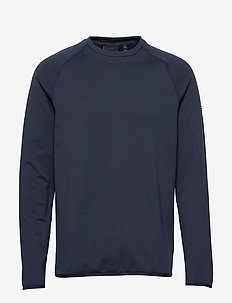 Mav HL Mid Crew - basis-t-skjorter - navy blue