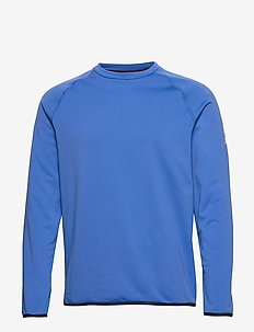 Mav HL Mid Crew - basis-t-skjorter - victoria blue