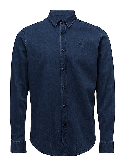 EBRINGTON INDIGO REGULAR SHIRT - ECL