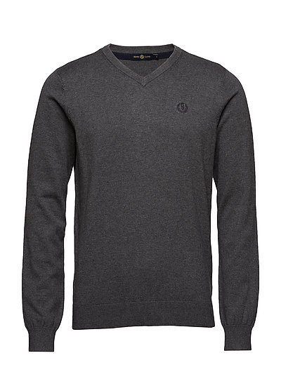 MORAY REGULAR V NECK KNIT - GRM