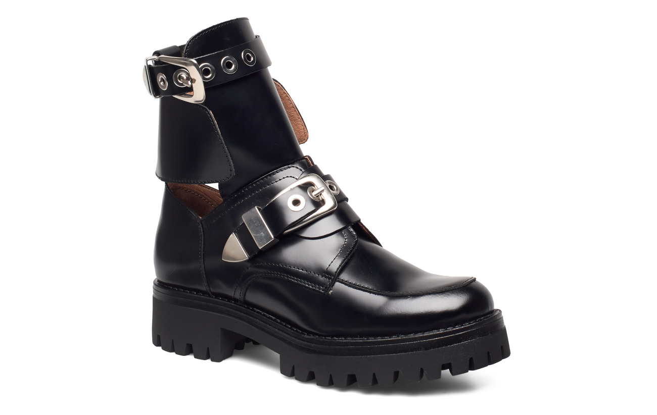 Henry Kole Melanie High Shine Black - BLACK