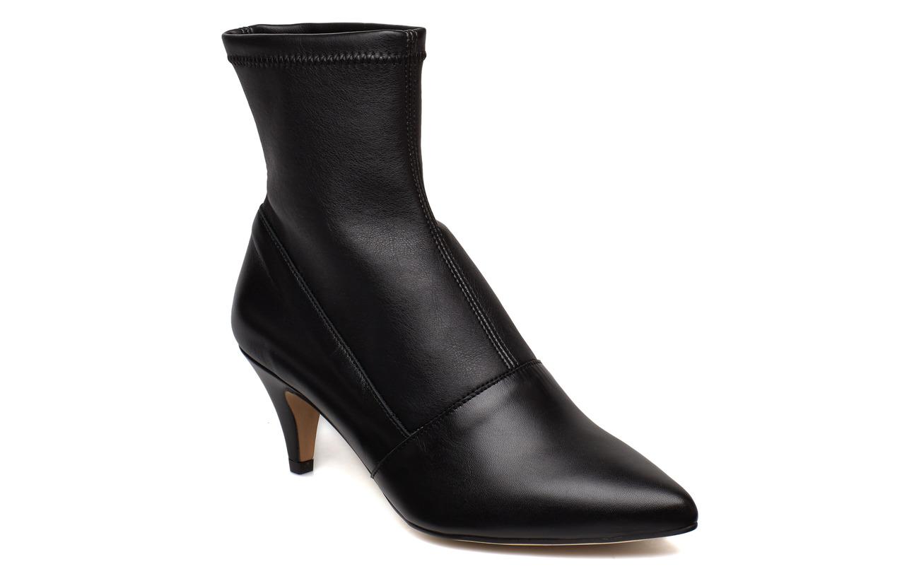 Henry Kole Emma Leather Black - BLACK