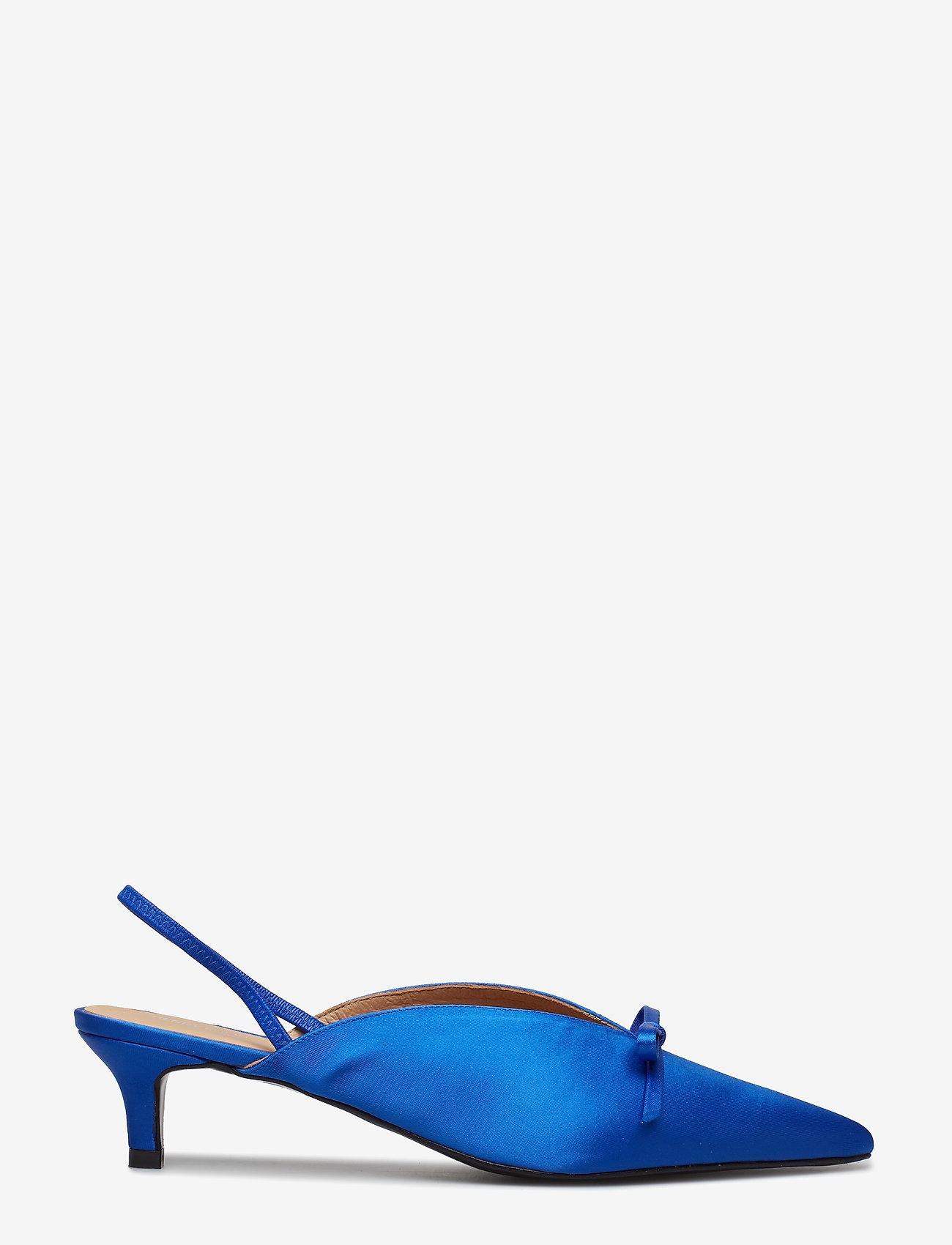 Amelie Satin Blue (Blue) - Henry Kole LFToJK