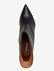 Henry Kole - Selena Leather Black - ankelstøvler med hæl - black - 3