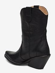 Henry Kole - Livia Leather Black - ankelstøvler med hæl - black - 2