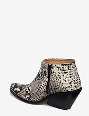 Henry Kole - Ava Snake - ankelstøvler med hæl - grey - 2