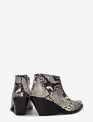 Henry Kole - Ava Snake - ankelstøvler med hæl - grey - 4