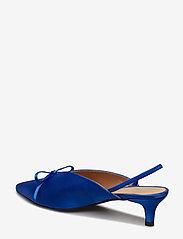 Henry Kole - Amelie Satin Blue - sling backs - blue - 5