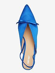 Henry Kole - Amelie Satin Blue - sling backs - blue - 7