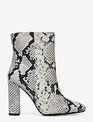 Henry Kole - Joan Snake Grey - ankelstøvler med hæl - grey - 1
