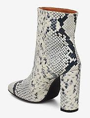 Henry Kole - Joan Snake Grey - ankelstøvler med hæl - grey - 2