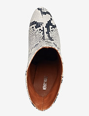 Henry Kole - Joan Snake Grey - ankelstøvler med hæl - grey - 3