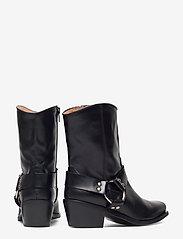 Henry Kole - Hazel Leather Black - ankelstøvler med hæl - black - 4