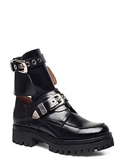Melanie High Shine Black - BLACK