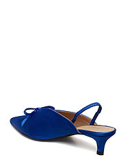 Henry Kole - Amelie Satin Blue - sling backs - blue - 4