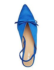 Henry Kole - Amelie Satin Blue - sling backs - blue - 6