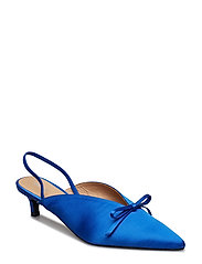 Amelie Satin Blue - BLUE