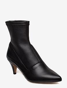 Emma Leather Black - BLACK